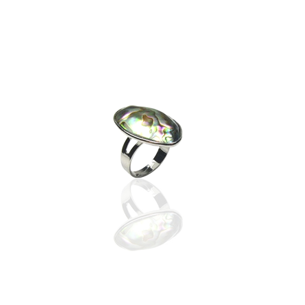 adjustable-abalone-ring-and-silver-plated