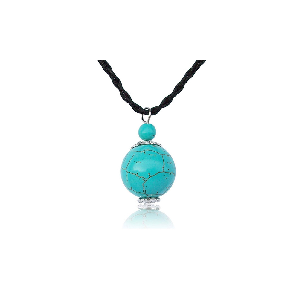 gemstone-turquoise-pearl-pendant