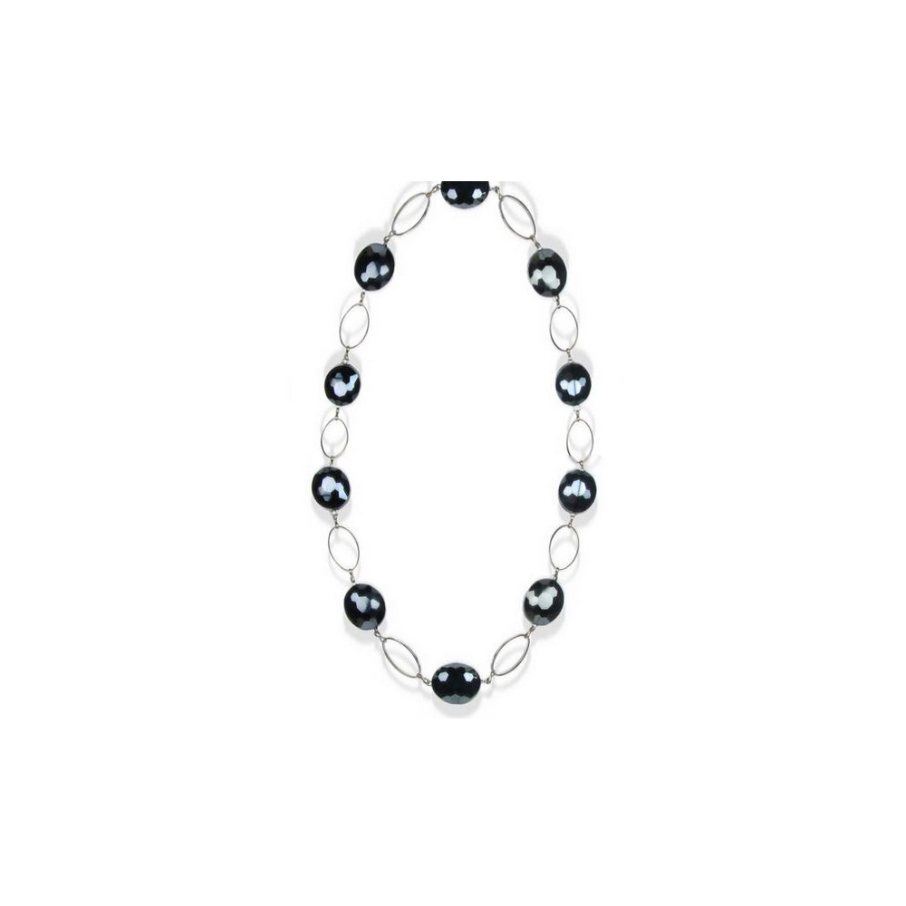 black-crystal-necklace-and-silver-plated