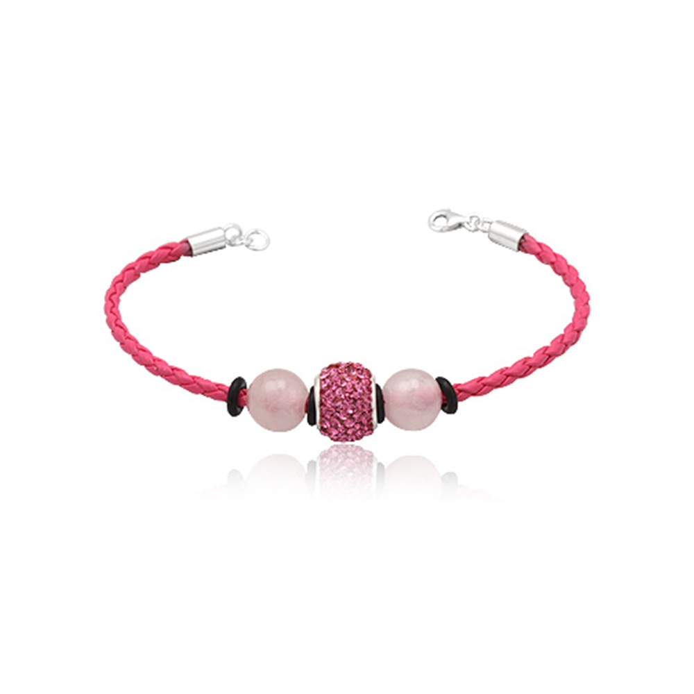 pink-leather-bracelet-pink-quartz-and-pink-crystal-beads-and-925-silver