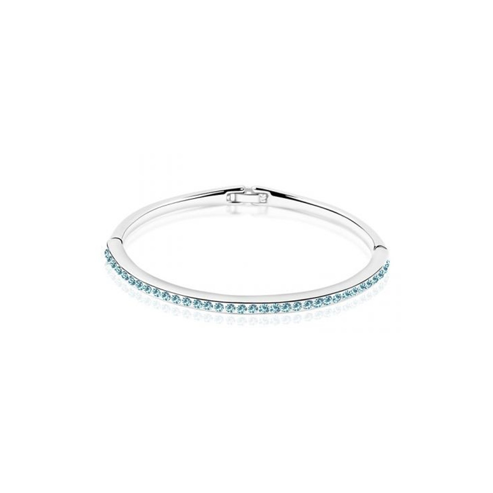 children-bangle-bracelet-made-with-a-blue-crystal-from-swarovski-and-white-gold-plated