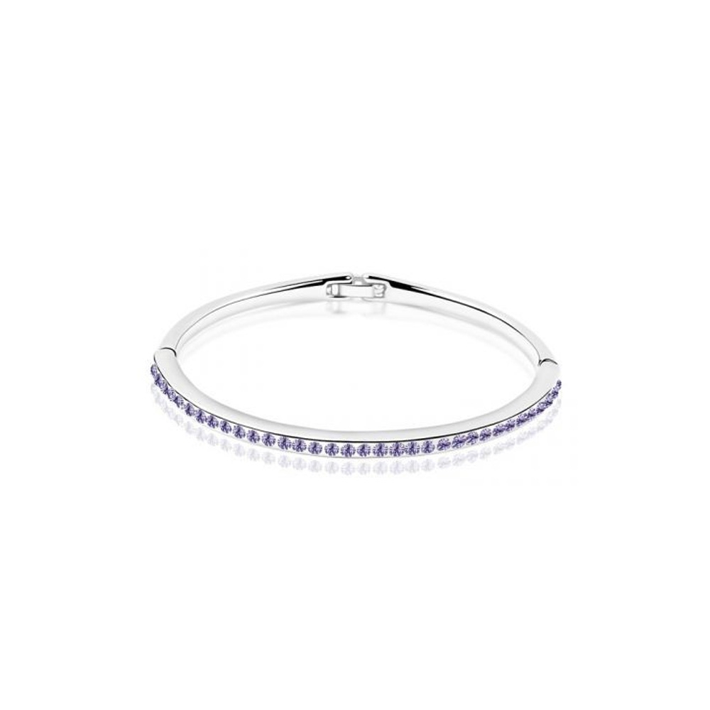 children-bangle-bracelet-made-with-a-purple-crystal-from-swarovski-and-white-gold-plated