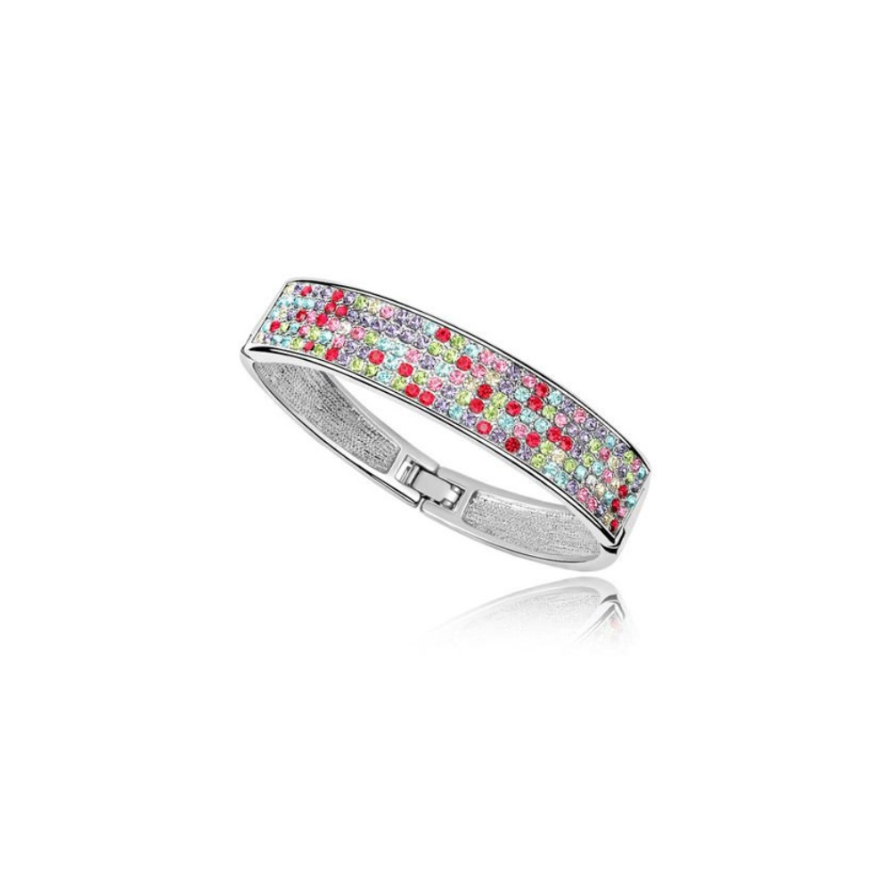 bangle-bracelet-made-with-a-multicolor-crystal-from-swarovski-and-white-gold-plated