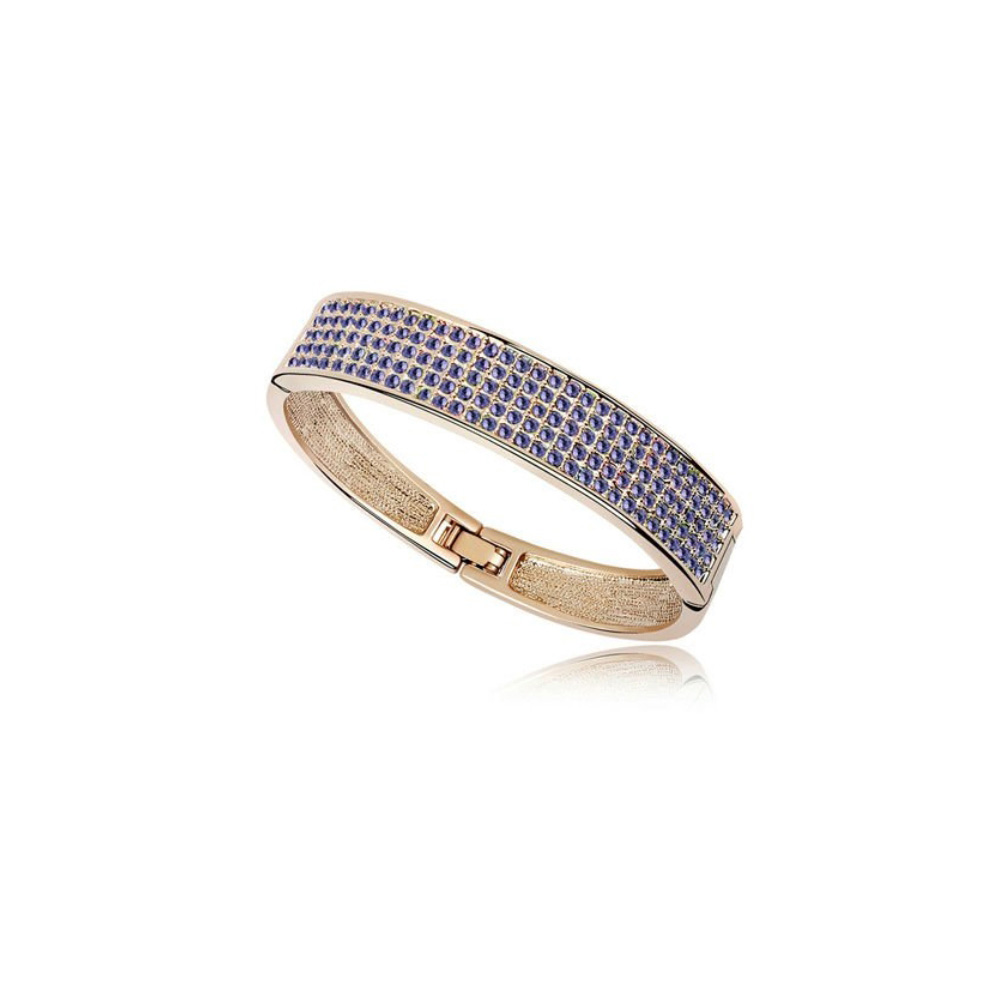 bangle-bracelet-made-with-a-purple-crystal-from-swarovski-and-yellow-gold-plated