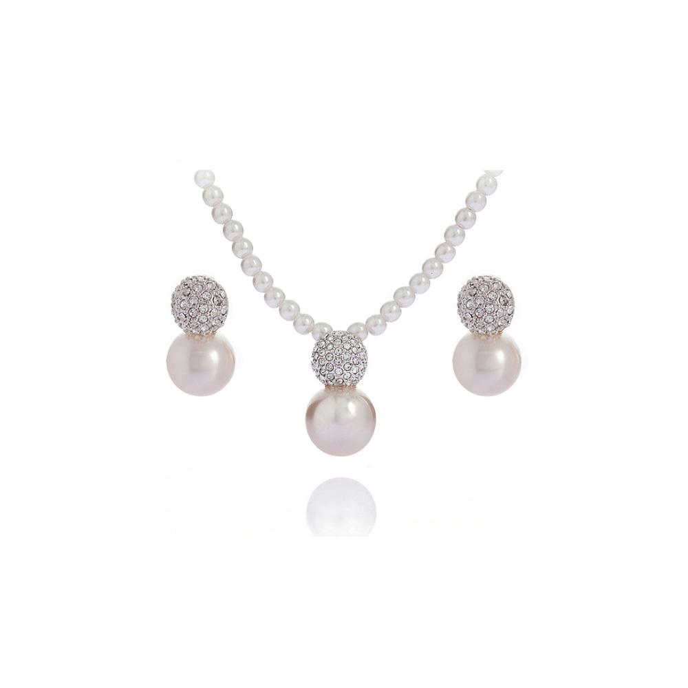 blue pearls bijoux perle swarovski hqc. Black Bedroom Furniture Sets. Home Design Ideas