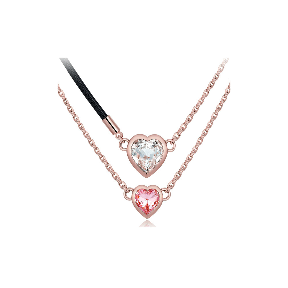 white-and-pink-swarovski-crystal-elements-and-rhodium-plated-double-heart-necklace