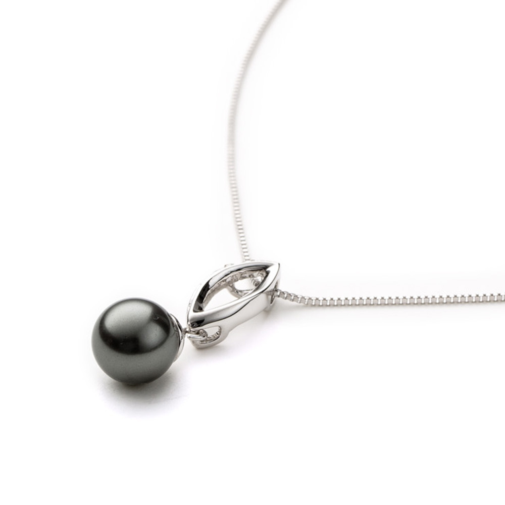 grey-pearl-and-crystal-pendant-and-white-gold-plated