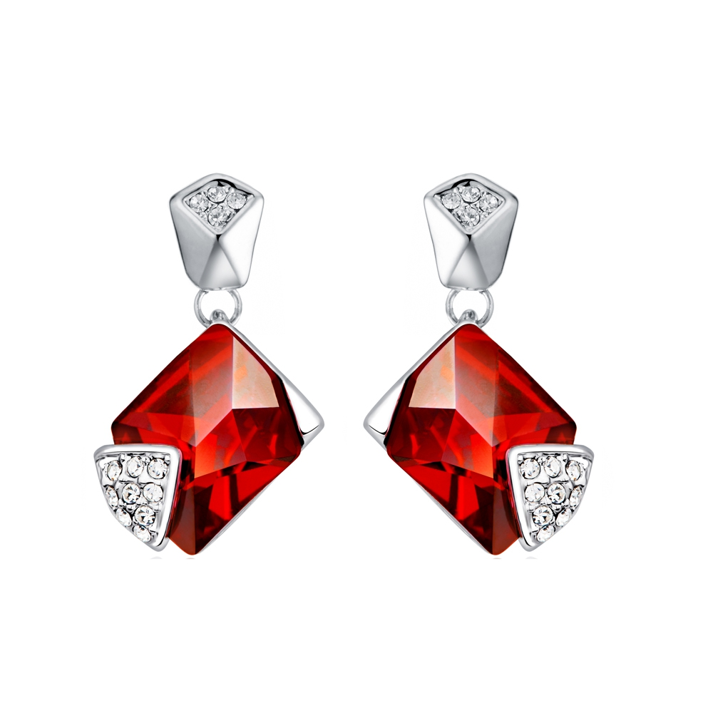 red-swarovski-crystal-elements-earrings-and-rhodium-plated