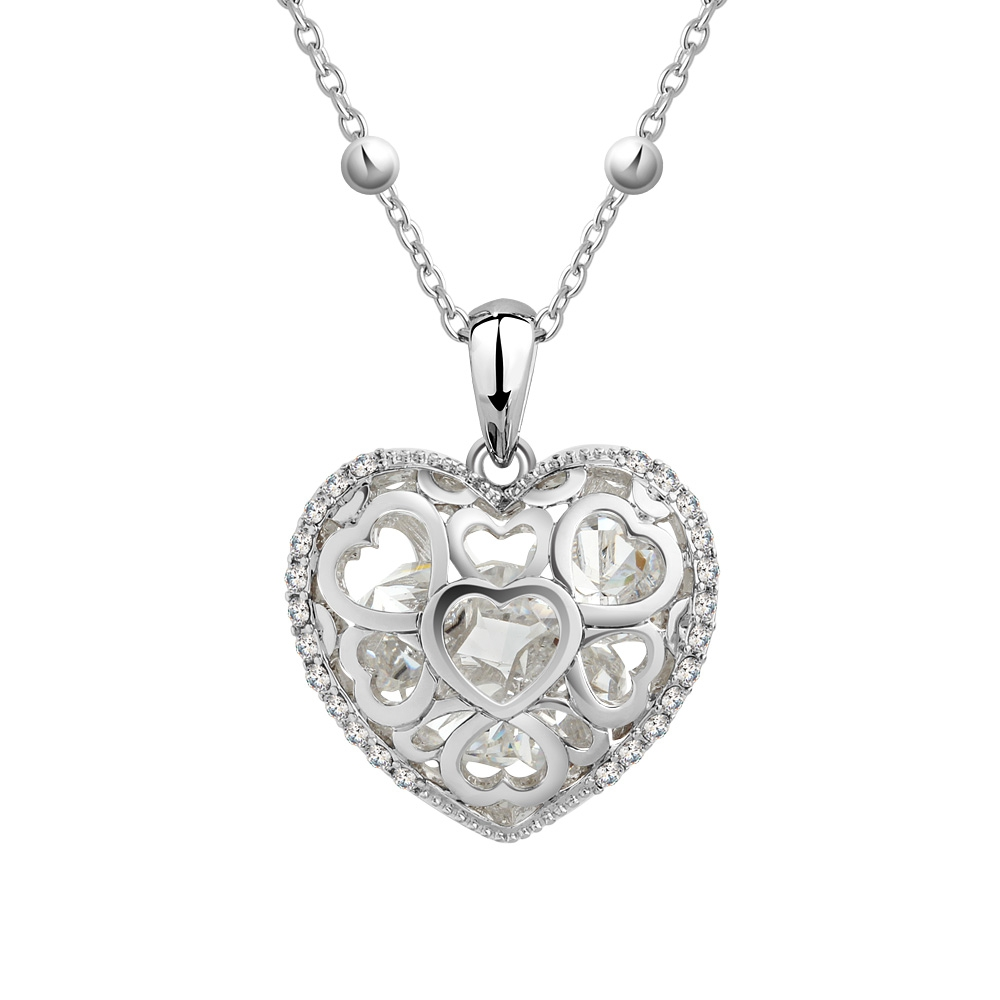 white-swarovski-crystal-elements-heart-pendant-and-rhodium-plated, 35.00 EUR @ blue-pearls