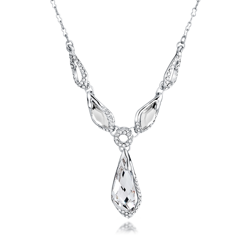 white-swarovski-crystal-elements-necklace-and-rhodium-plated