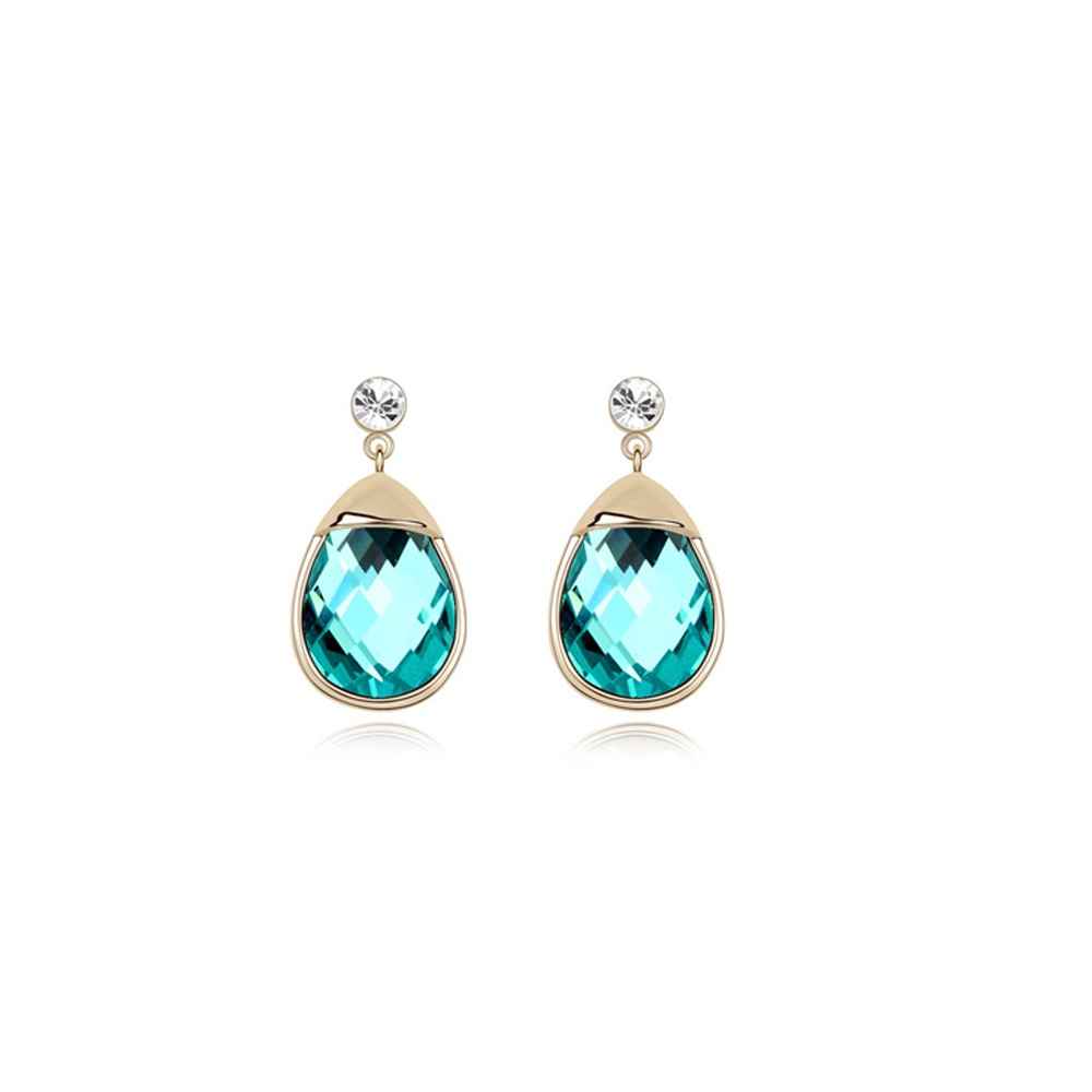 turquoise-crystal-earrings-and-gold-plated-white