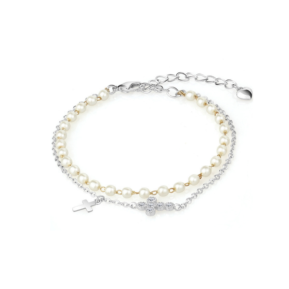 white-pearls-cross-bracelet-and-rhodium-plated