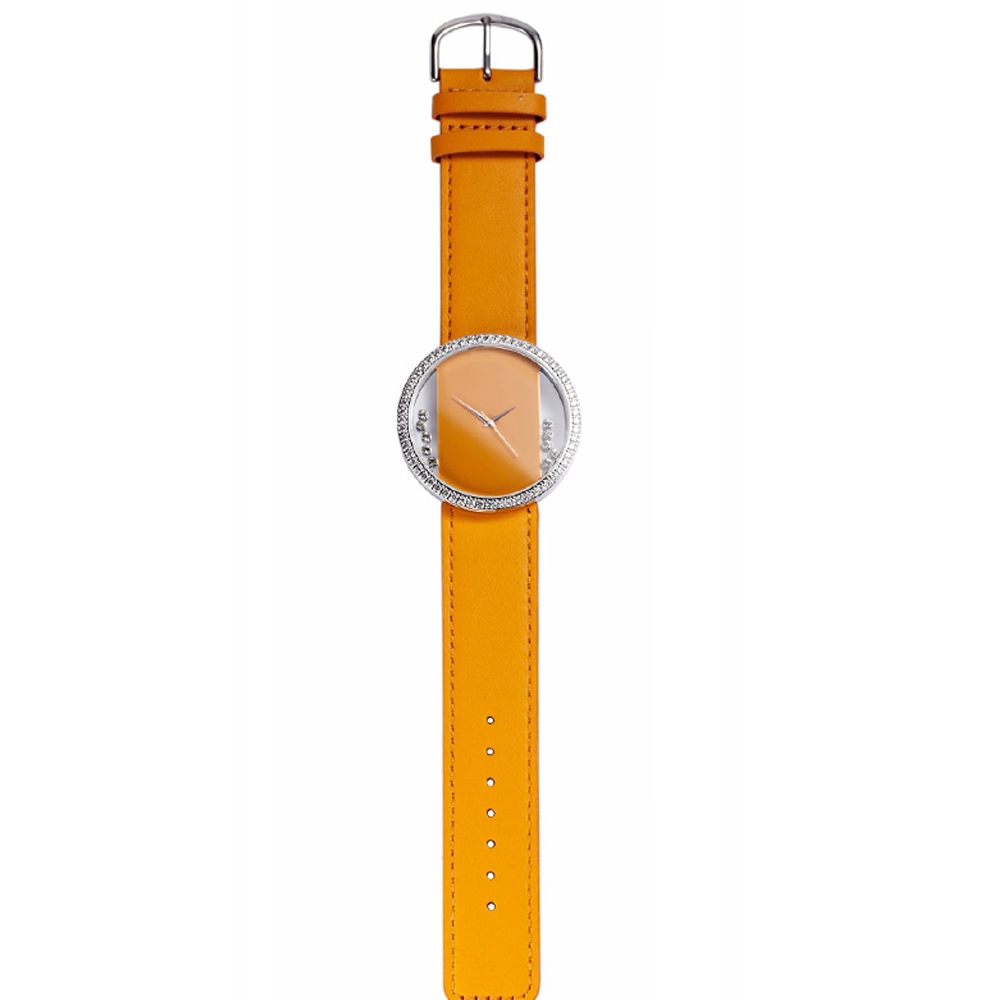white-swarovski-crystal-elements-and-orange-leather-bracelet-watch