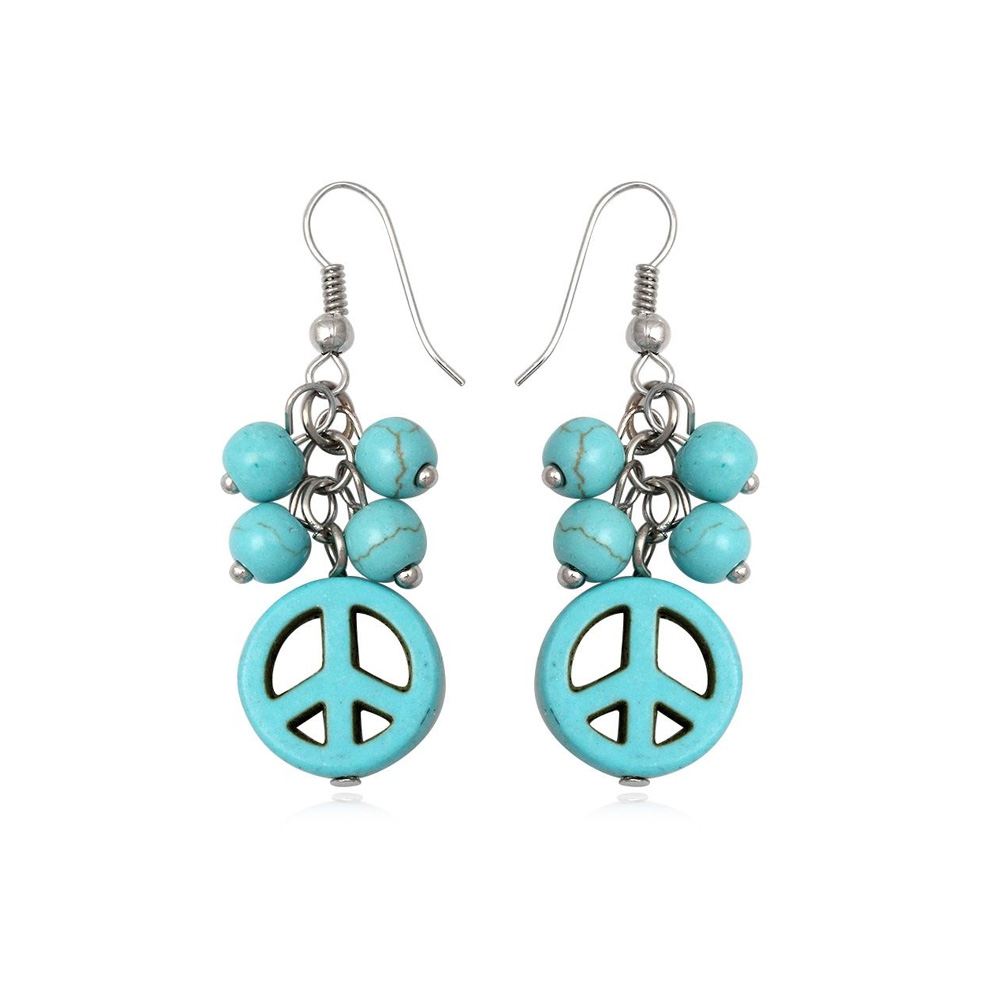 turquoise-peace-dangling-earrings