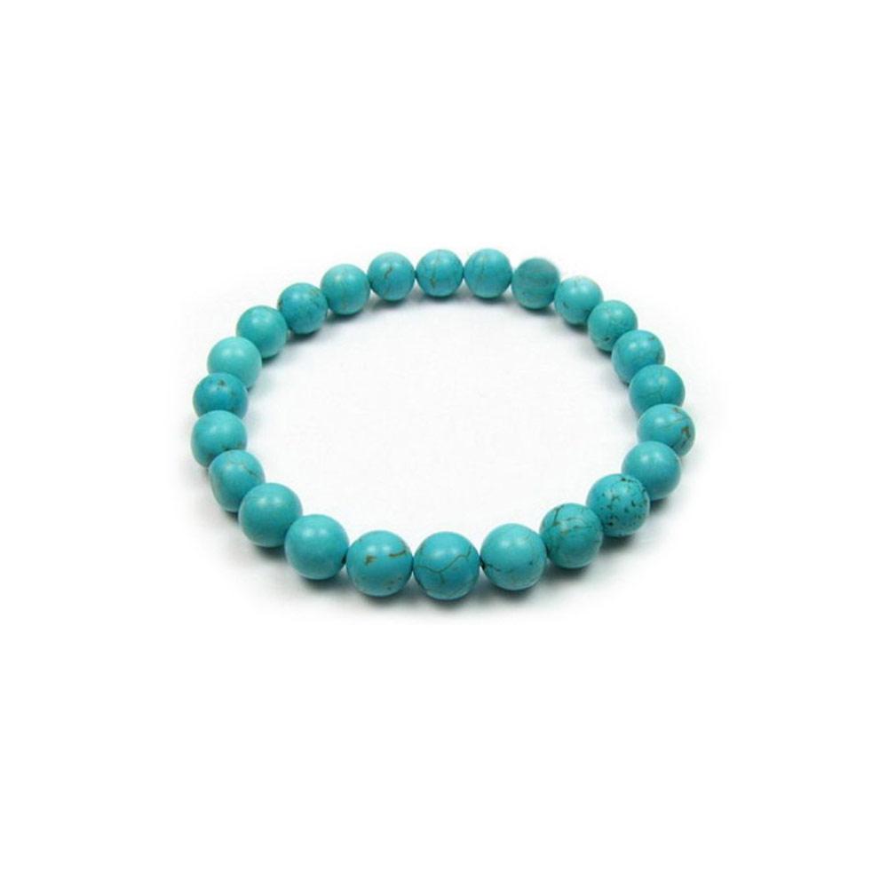 turquoise-gem-stretch-bracelet