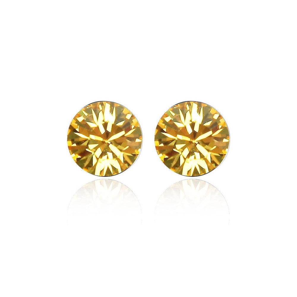 yellow-swarovski-element-crystal-earrings