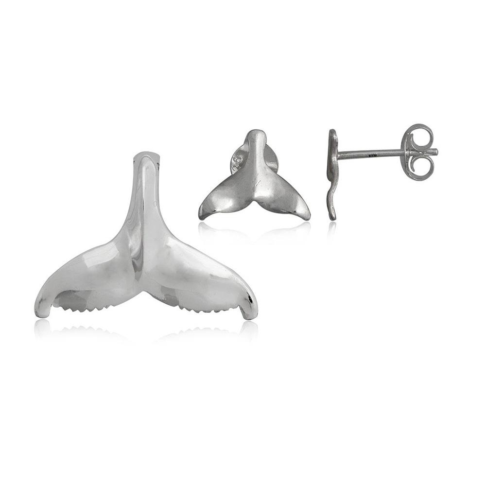 Schmucksets - Schmuckset Anhänger und Ohrringe Walendstück 925 Silber  - Onlineshop Blue Pearls