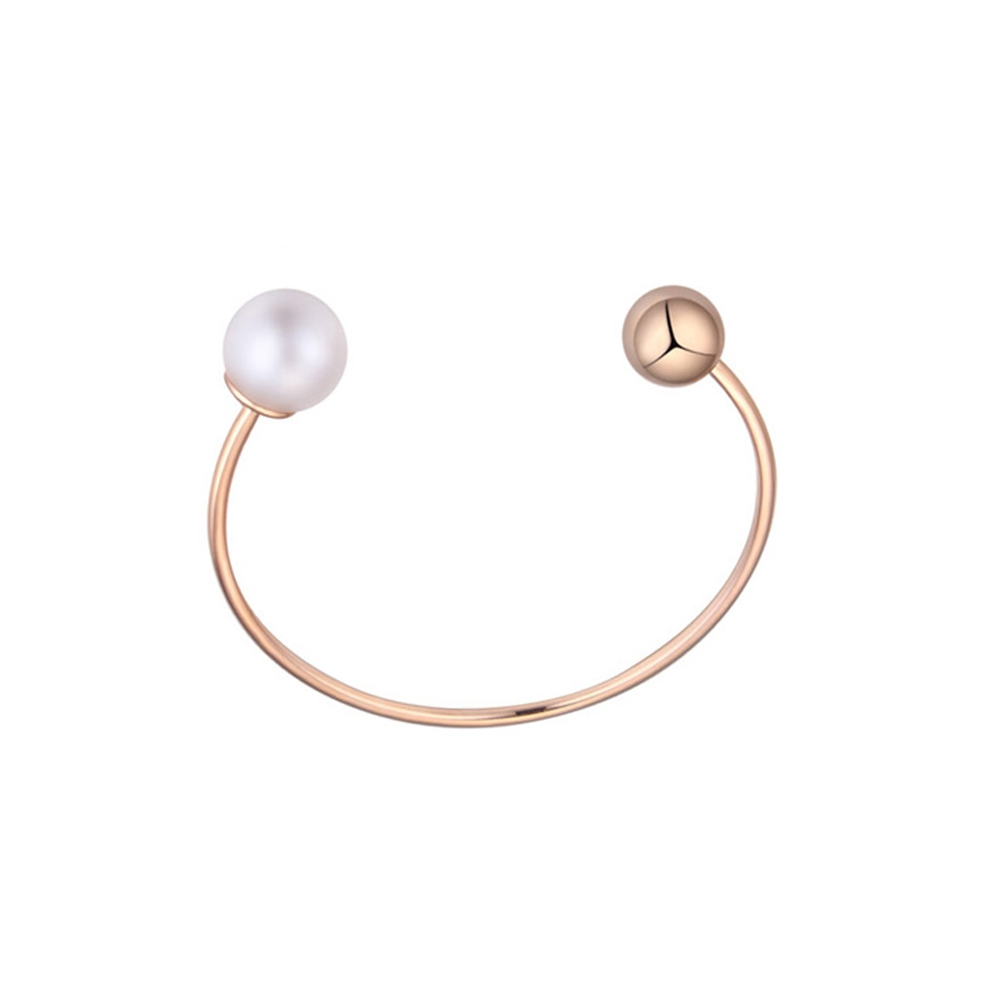 white-pearl-and-rose-gold-plated-bangle-bracelet