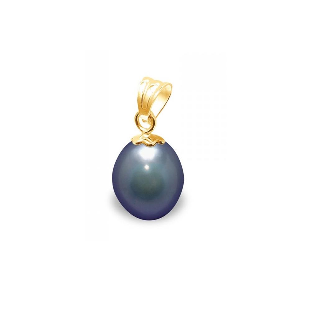 pendentif perle de culture d 39 eau douce noire et or jaune 750 1000 pendentifs blue pearls. Black Bedroom Furniture Sets. Home Design Ideas