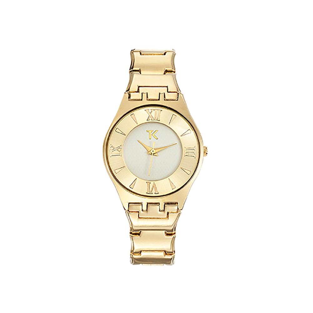 Uhren für Frauen - Uhr Analog mit Stoff Armband Trendy Kiss Ladonas  - Onlineshop Blue Pearls