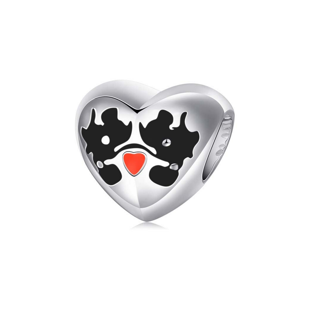 Armbaender für Frauen - Bead Charms Herz  - Onlineshop Blue Pearls
