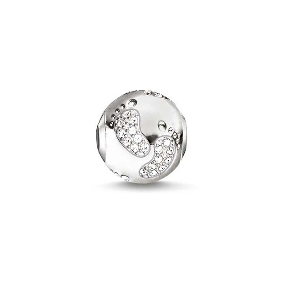charms-bead-birth-small-feet-and-white-crystal