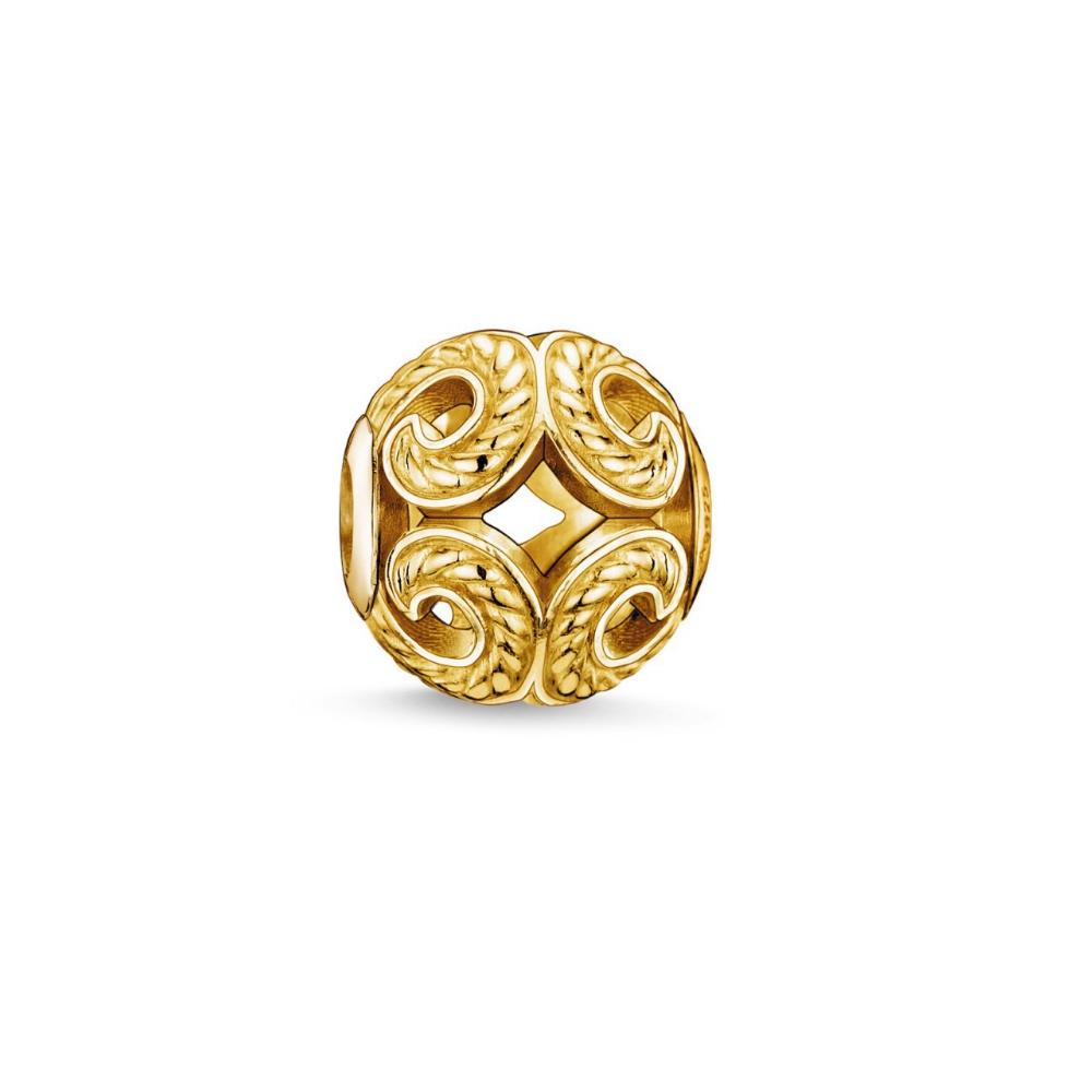Armbaender für Frauen - Bead Charms Golden  - Onlineshop Blue Pearls