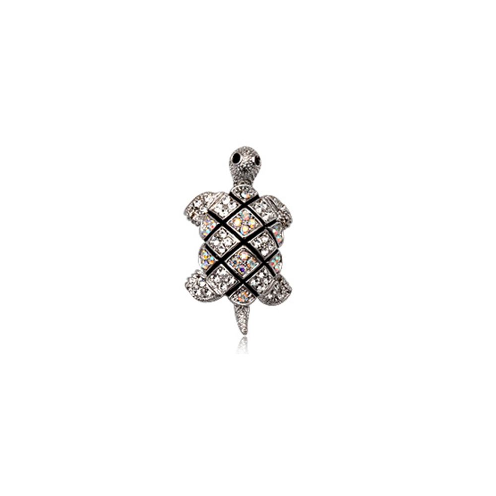 white-crystal-turtle-brooch-and-rhodium-plated