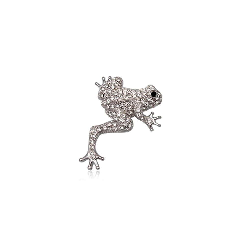 white-crystal-frog-brooch-and-rhodium-plated