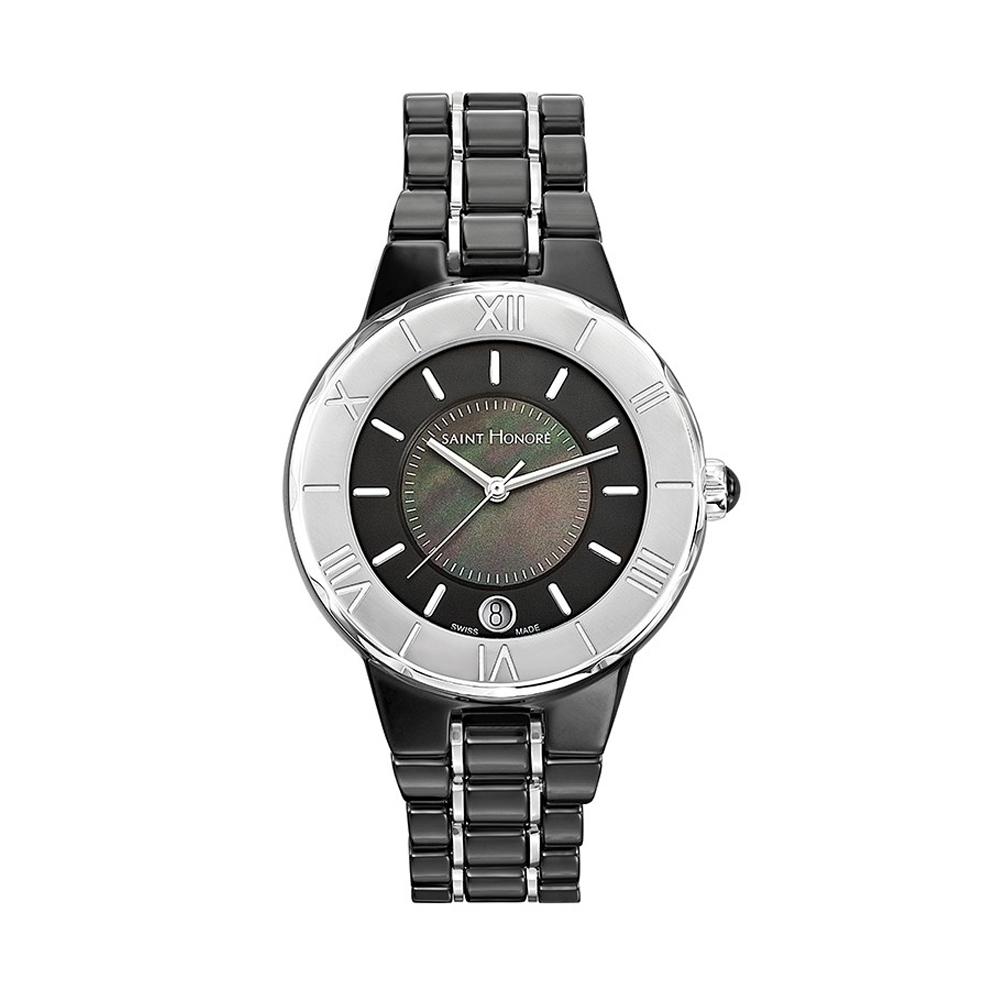 Uhren - Uhr Worldcode Saint Honoré Schwarze Keramik  - Onlineshop Blue Pearls