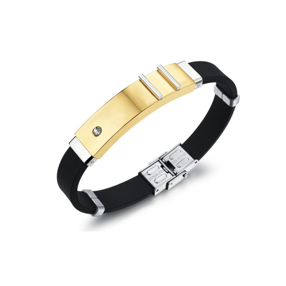 yellow-gold-plated-stainless-steel-plated-crystal-and-silicone-man-bracelet