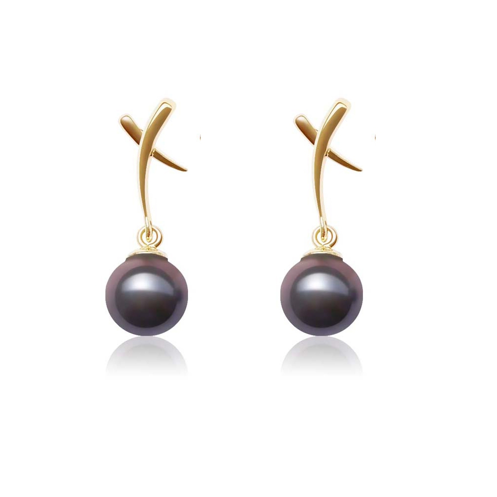 black-aaa-freshwater-pearl-earrings-and-yellow-gold