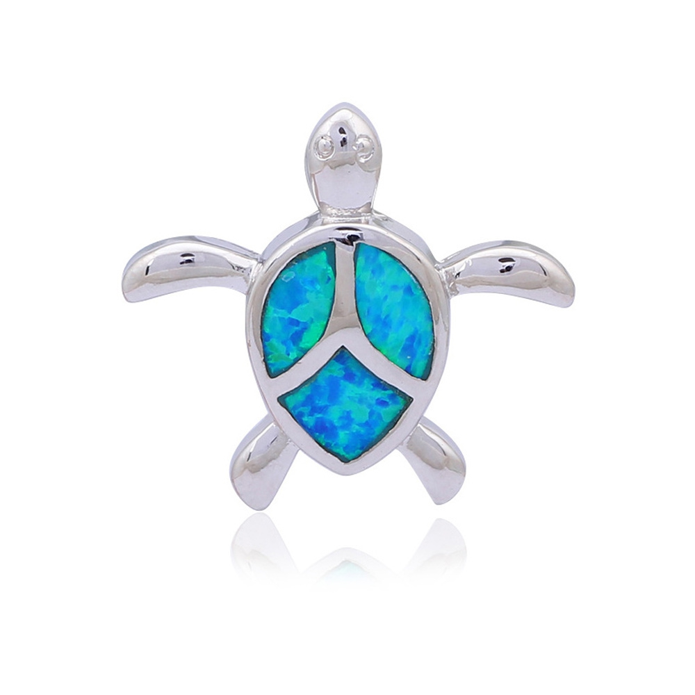 opal-turtle-woman-pendant-and-silver-plated