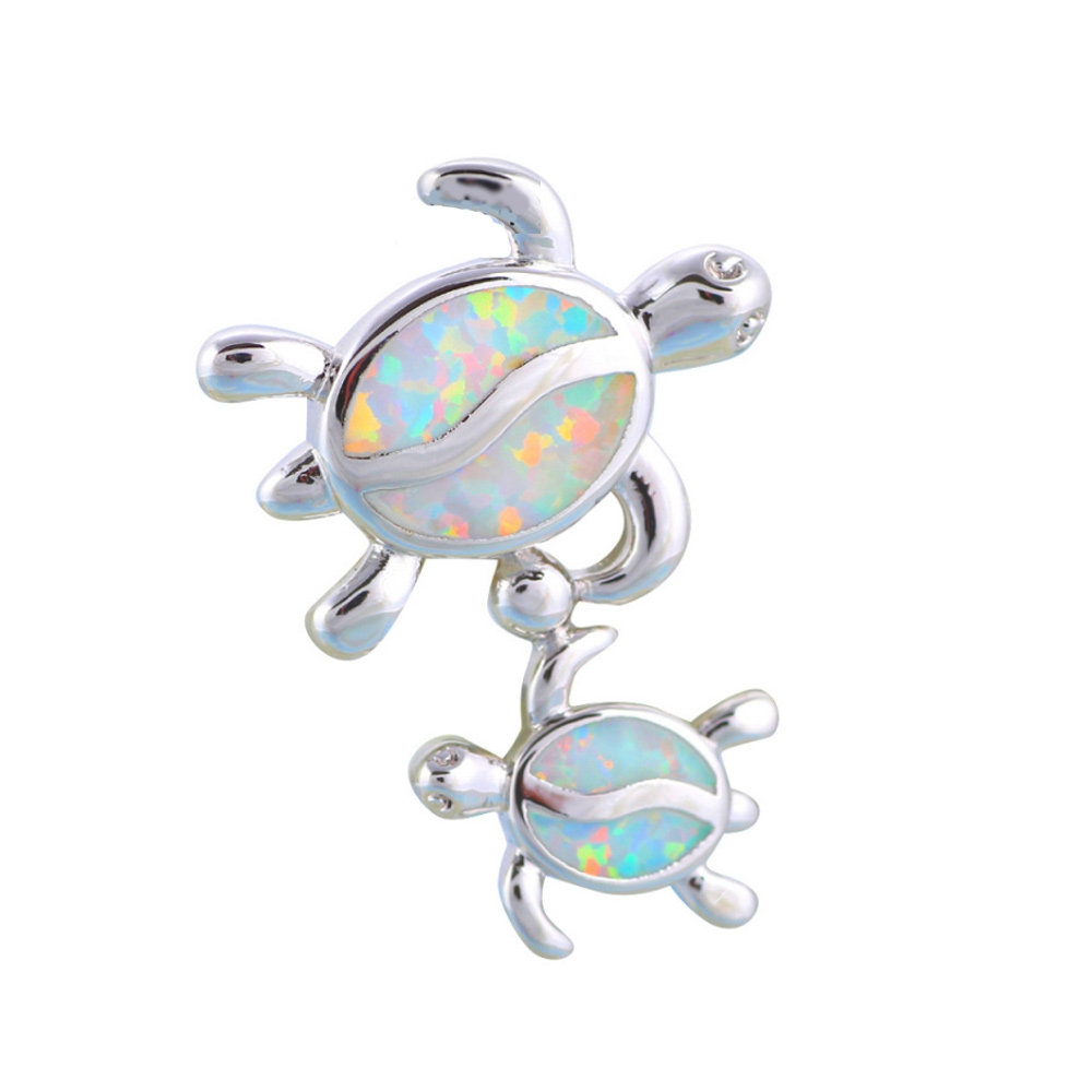 opal-turtles-pendant-and-silver-plated