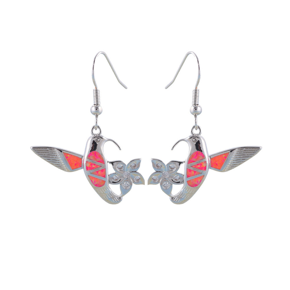 pink-opal-dangling-hummingbird-earrings-and-silver-plated