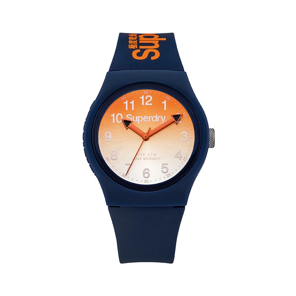 Uhr Superdry Urban Silikon Armband Blau | 7109