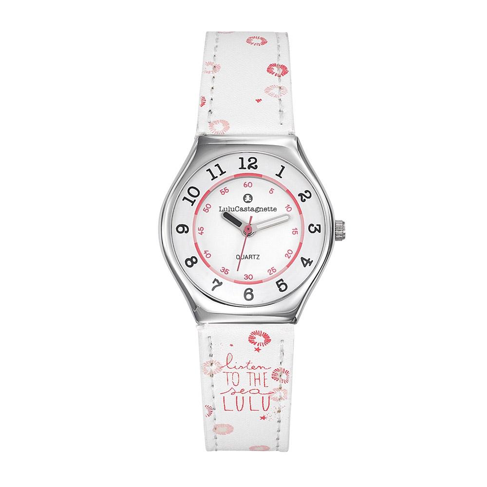 Uhren für Frauen - Uhr Analog mit Stoff Armband LuluCastagnette  - Onlineshop Blue Pearls