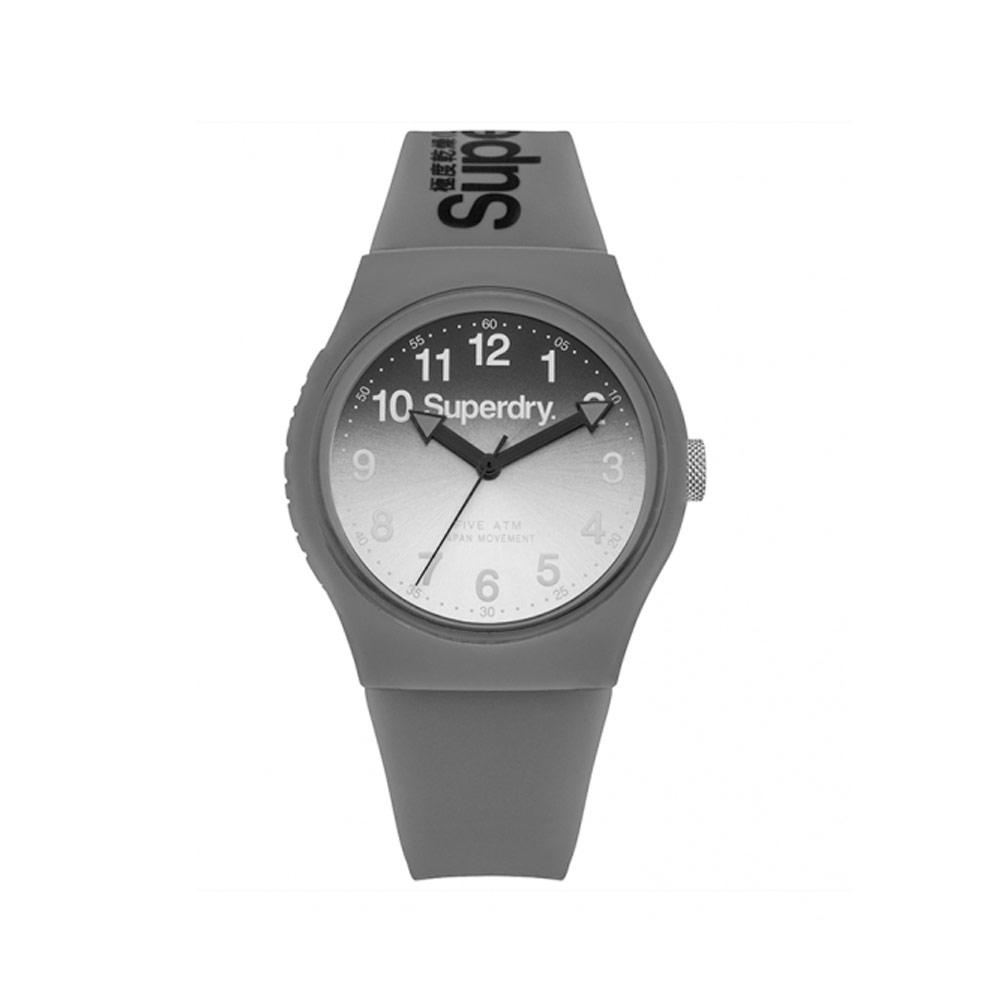 Uhr Superdry Urban Silikon Armband Grau | 7343
