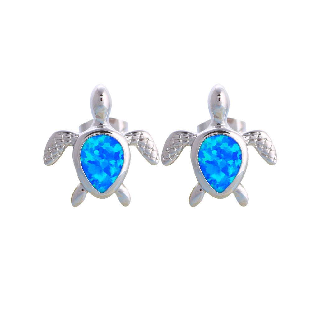 blue-opal-turtle-wommen-earrings-and-silver-plated