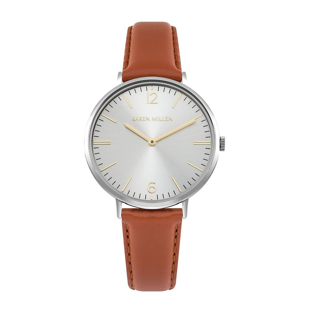 Uhren - Uhr Frau Braun Leder  - Onlineshop Blue Pearls
