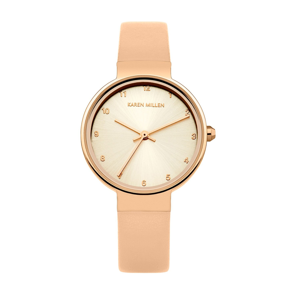 watch-women-pink-trench-leather