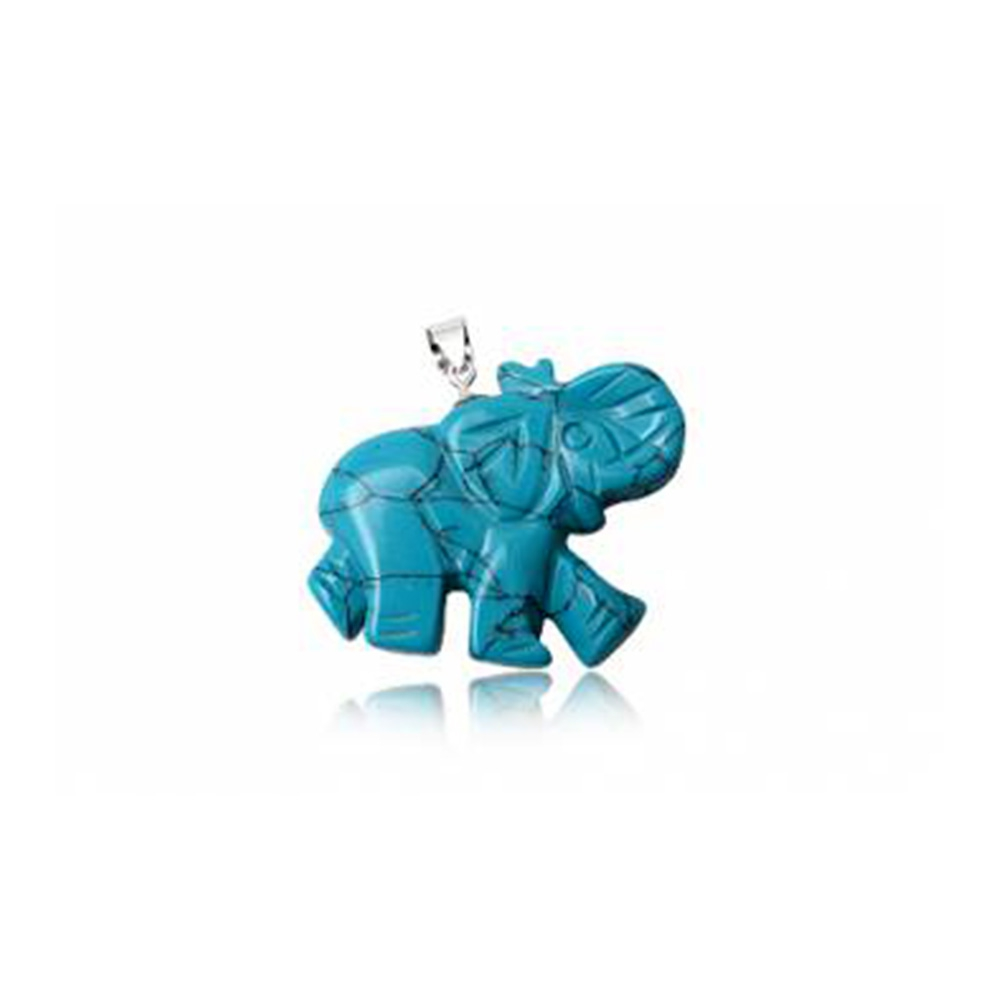 elephant-pendant-in-turquoise-and-925-silver