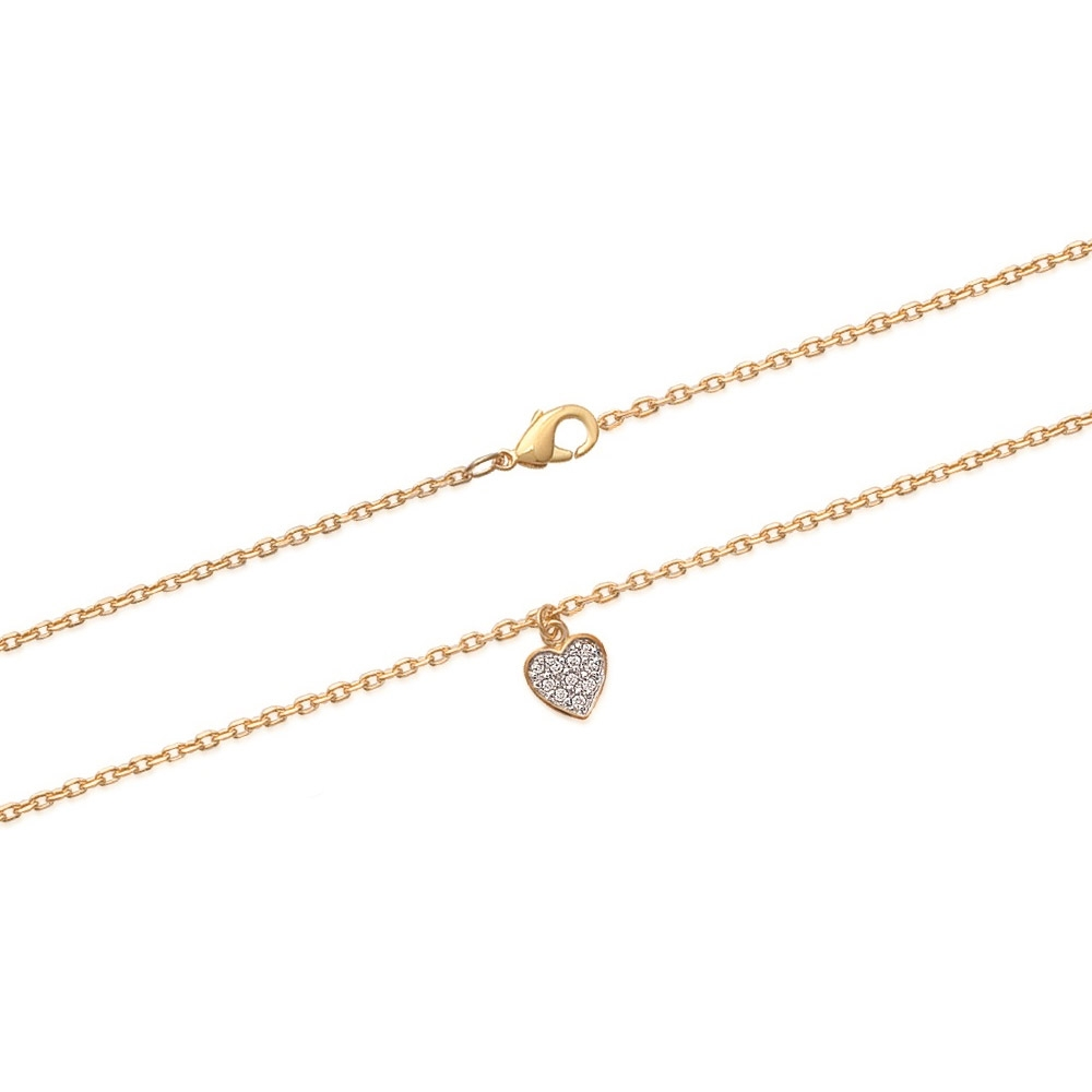 yellow-gold-plated-heart-and-zirconium-anklet-chain