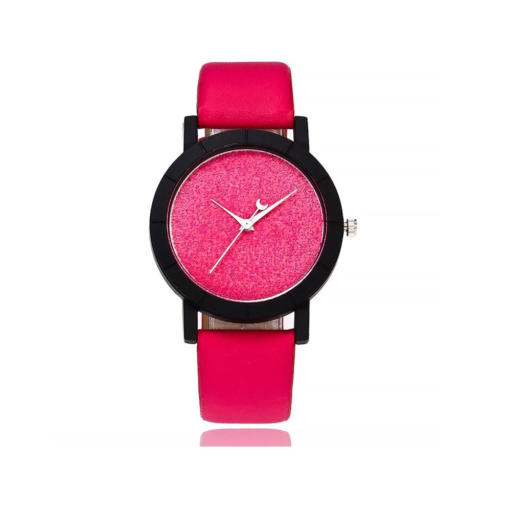 Uhren für Frauen - Pailletten Fancy Uhr und Rose Armband  - Onlineshop Blue Pearls