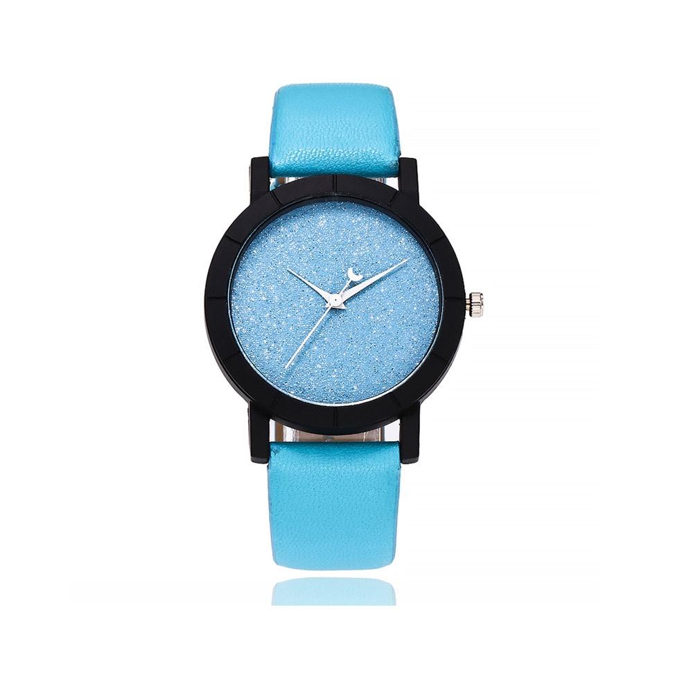 Uhren für Frauen - Pailletten Fancy Uhr und Blauen Armband  - Onlineshop Blue Pearls
