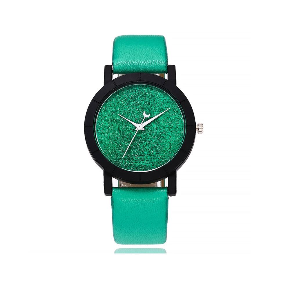Uhren für Frauen - Pailletten Fancy Uhr und Grauen Armband  - Onlineshop Blue Pearls