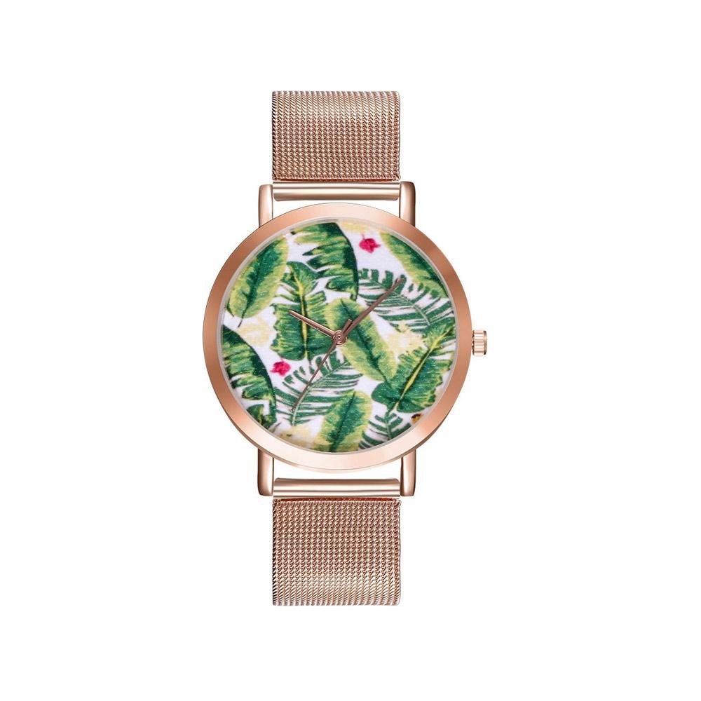 Uhren für Frauen - Phantasie Jungle Uhr und Edelstahl Armband  - Onlineshop Blue Pearls
